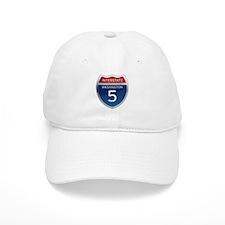 Interstate 5 - Washington Baseball Cap