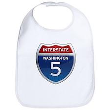 Interstate 5 - Washington Bib