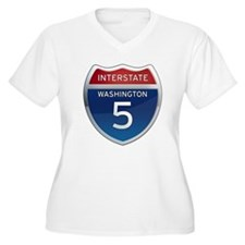 Interstate 5 - Washington T-Shirt