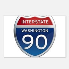 Interstate 90 - Washington Postcards (Package of 8