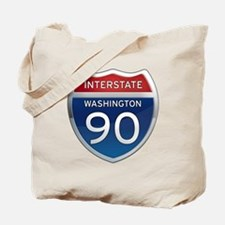Interstate 90 - Washington Tote Bag