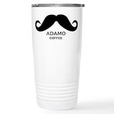 The Adamo Mustache Travel Mug