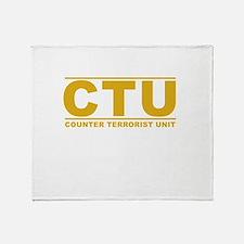 CTU Throw Blanket