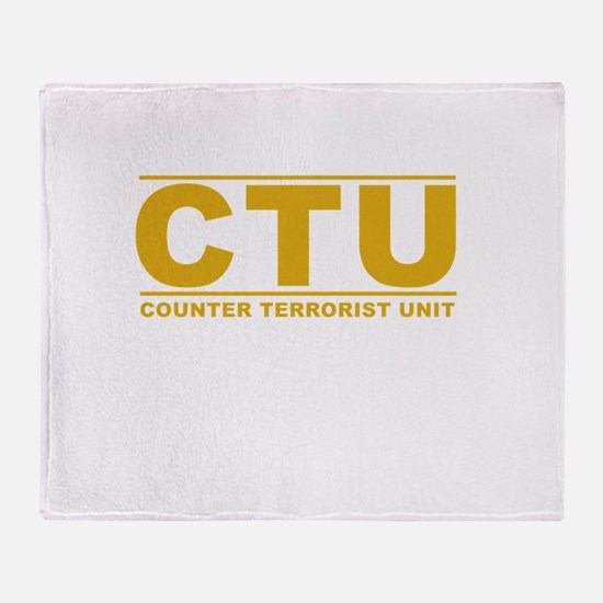 CTU Throw Blanket