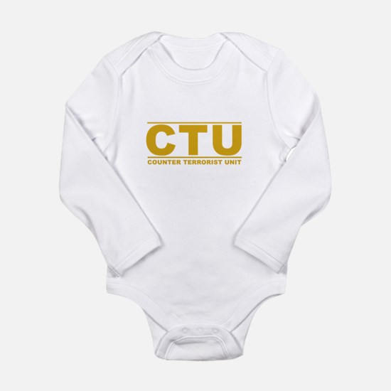 CTU Long Sleeve Infant Bodysuit