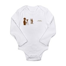 Surveyor Long Sleeve Infant Bodysuit