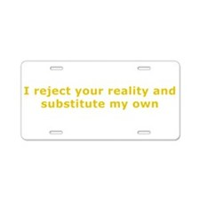 Mythbusters Aluminum License Plate