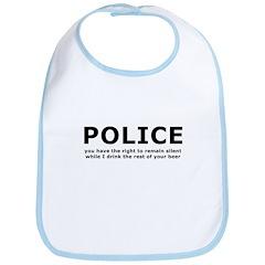 Beer Police Bib