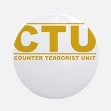 CTU Ornament (Round)