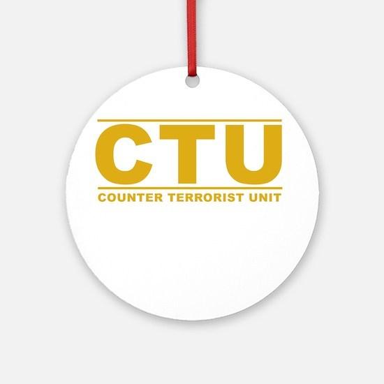CTU Ornament (Round)