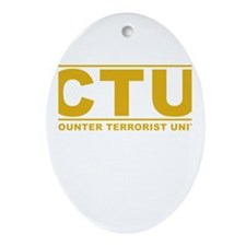 CTU Ornament (Oval)