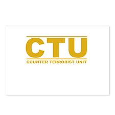 CTU Postcards (Package of 8)