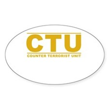 CTU Decal
