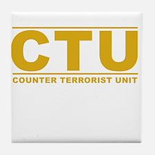 CTU Tile Coaster