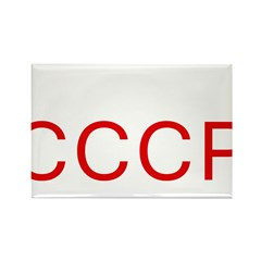 CCCP Rectangle Magnet (10 pack)
