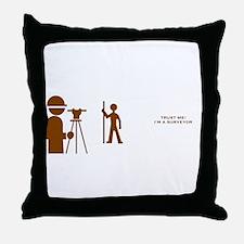 Surveyor Throw Pillow