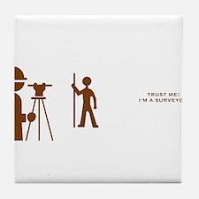Surveyor Tile Coaster