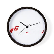 4G Eclipse Wall Clock