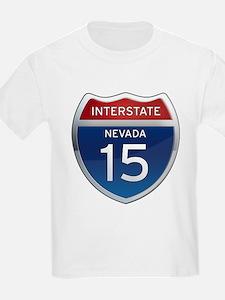 Interstate 15 - Nevada T-Shirt