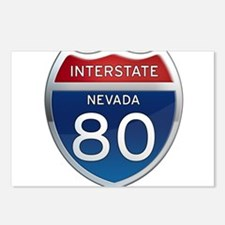Interstate 80 - Nevada Postcards (Package of 8)