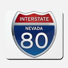 Interstate 80 - Nevada Mousepad