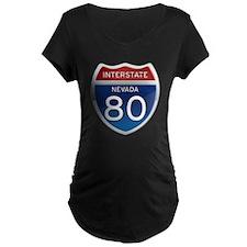 Interstate 80 - Nevada T-Shirt