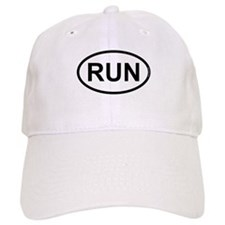 RUN - Running Runner Baseball Cap
