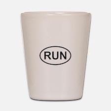 RUN - Running Runner Shot Glass
