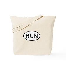 RUN - Running Runner Tote Bag