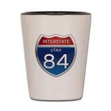 Interstate 84 - Utah Shot Glass