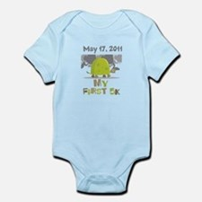 Personalized My First 5K Infant Bodysuit
