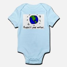 Respect Your Mother (earth) Infant Creeper