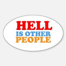 Hell Is Other People Decal