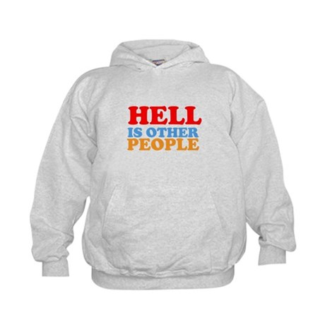 Hell Is Other People Kids Hoodie