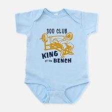 300 Club Bench Press Infant Bodysuit