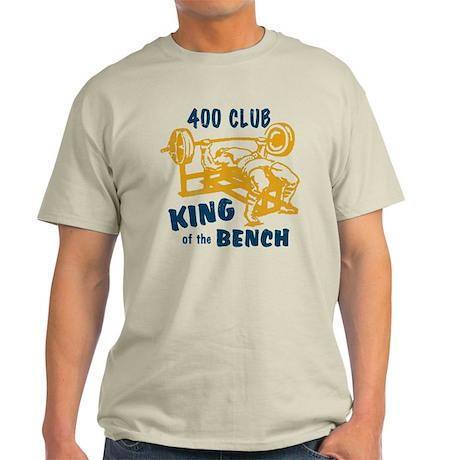 400 Club Bench Press Light T-Shirt