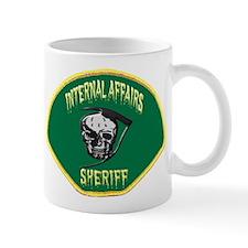 Sheriff Internal Affairs Small Mug