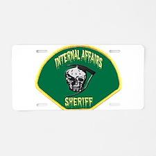 Sheriff Internal Affairs Aluminum License Plate