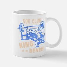 500 Club Bench Press Mug