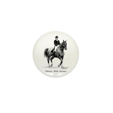 "Sport Horse ""Dressage"" Mini Button (10 pack)"