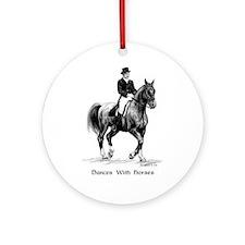 "Sport Horse ""Dressage"" Ornament (Round)"