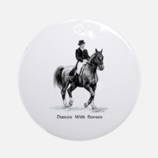 "Sport Horse ""Dressage"" Ornament (Round)"