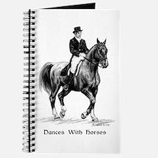 """Sport Horse """"Dressage"""" Journal"""