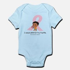 I wear pink for my Auntie Infant Bodysuit