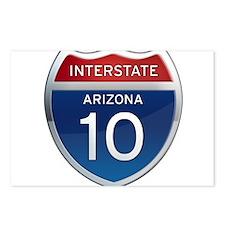 Interstate 10 - Arizona Postcards (Package of 8)