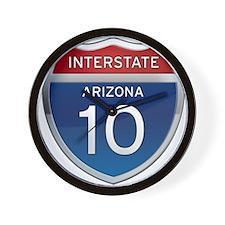 Interstate 10 - Arizona Wall Clock