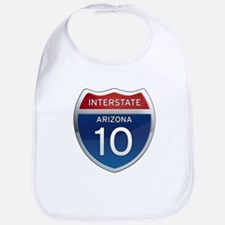 Interstate 10 - Arizona Bib