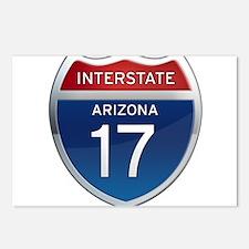 Interstate 17 - Arizona Postcards (Package of 8)