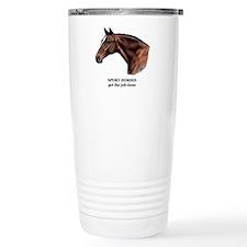Sport Horse Travel Mug