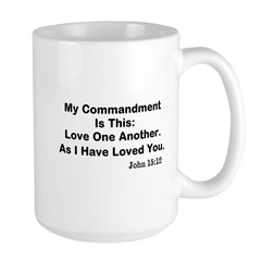 Jesus: Love One Another Mug